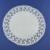 Round White Lace Doilies