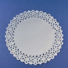 Round Silver Lace Doilies
